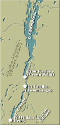 carte des lacs