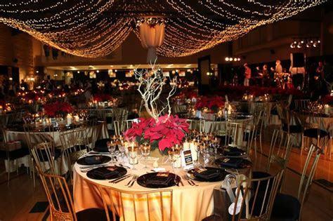 Poinsettia Centerpieces Elegant Lighting Fabric chandelier