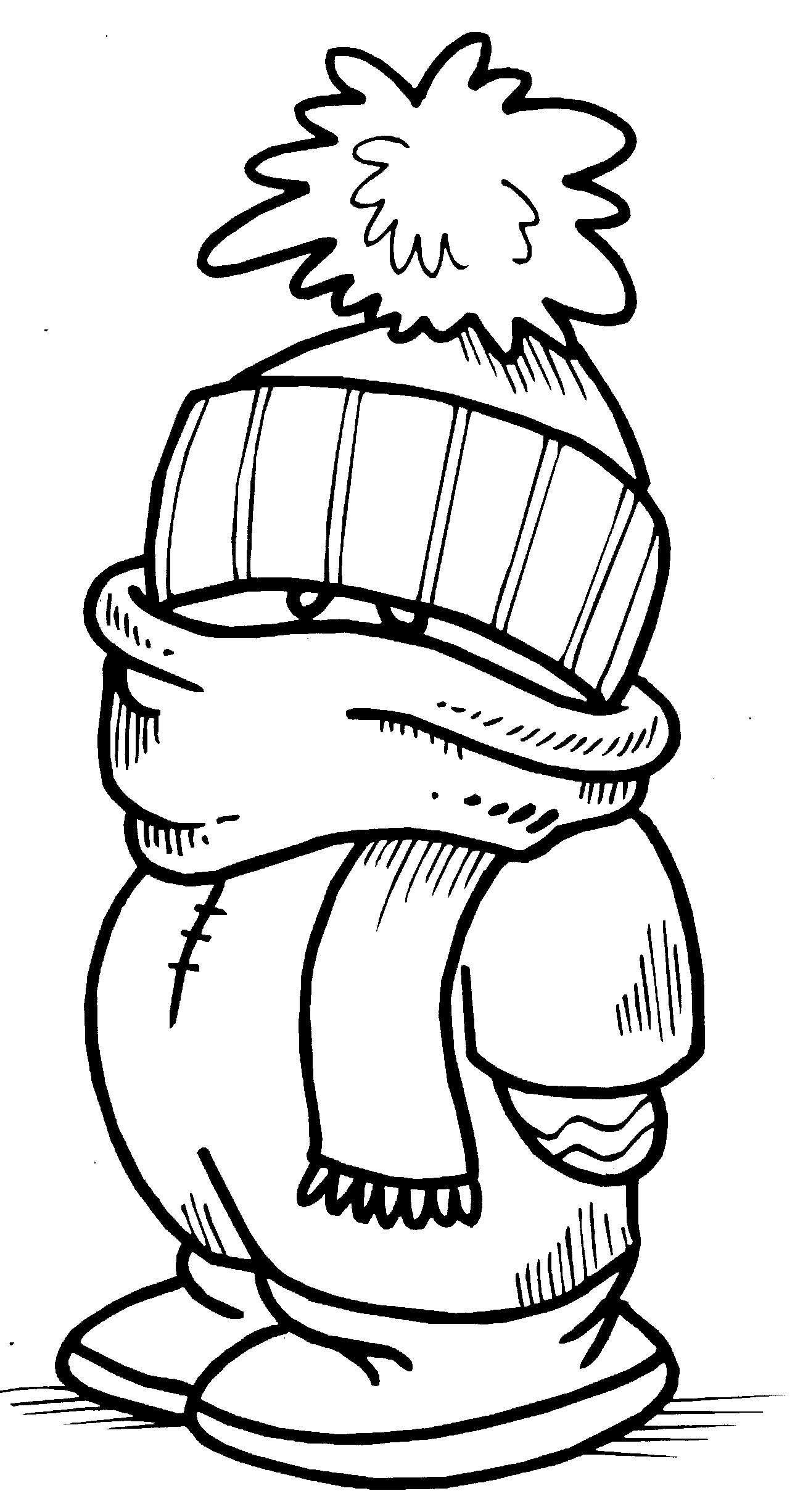 January Coloring Pages | Free download on ClipArtMag
