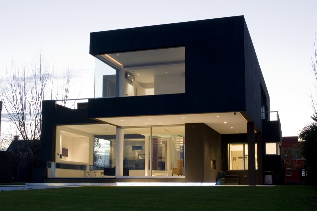 The Black House by Andres Remy Arquitectos  Architecture  Design