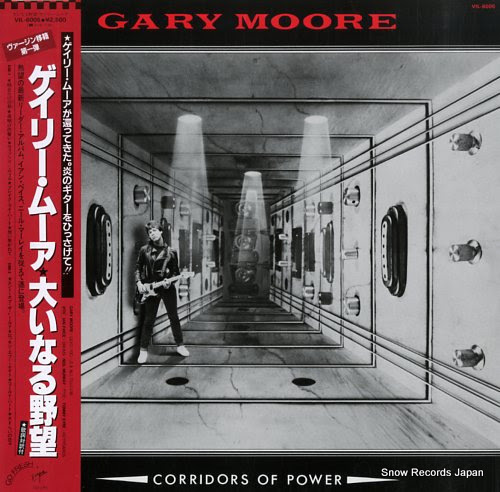 MOORE, GARY corridors of power