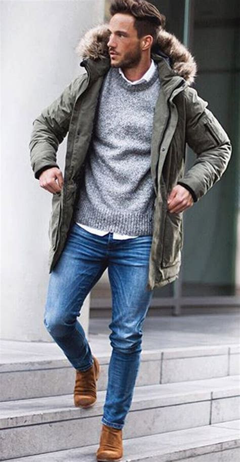 great winter outfits  men