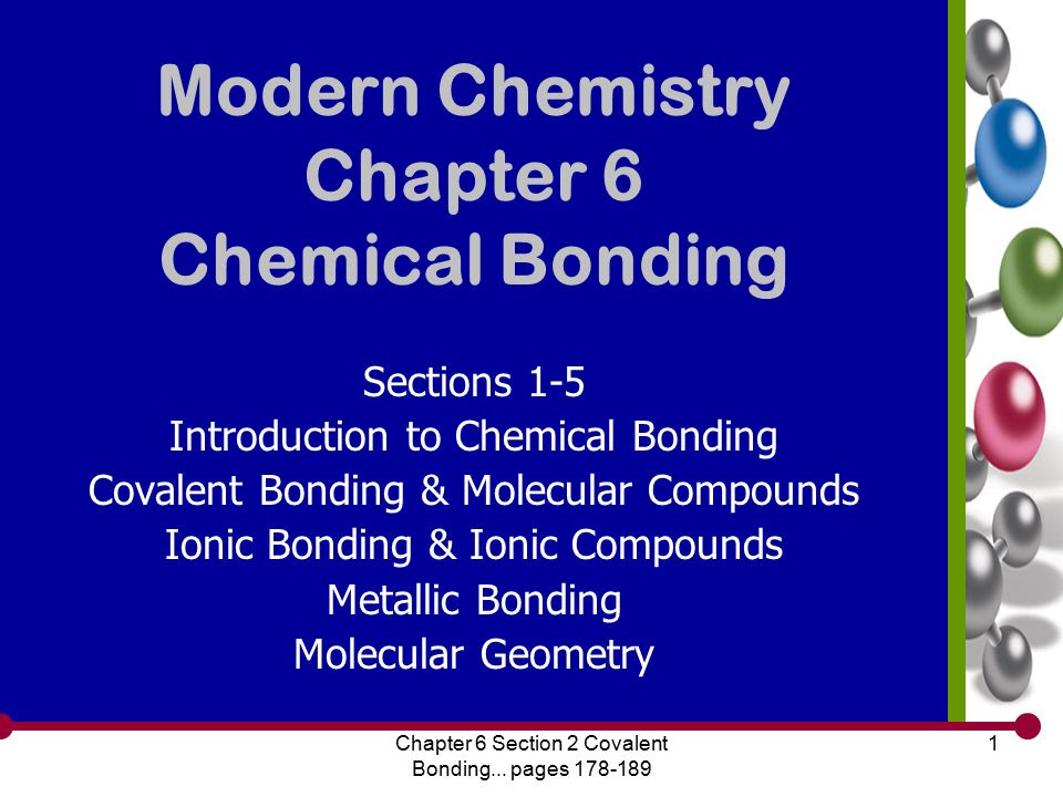 Chapter 6 Chemical Bonding Worksheet Answers