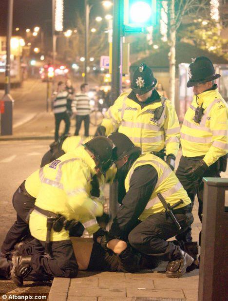 arrest norwich