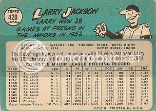 #420 Larry Jackson (back)