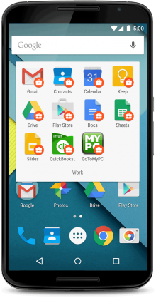gfw device ui 2x 220x418 Google launches Android for Work as it tries to integrate itself deeper into the business world