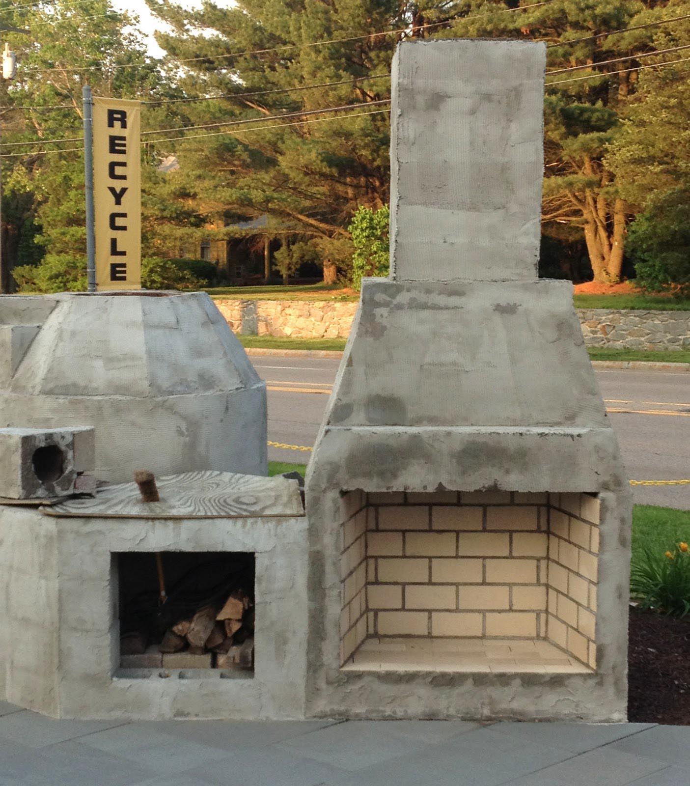 Diy Outdoor Fireplace Plans Fireplace Designs