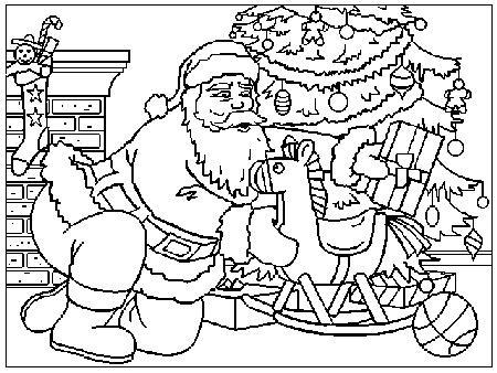 Babbo Natale Disegni Per Bambini Da Colorare