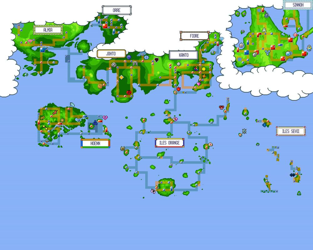 Google maps pokmon challenge youtube all pokemon regions world map memes gumiabroncs Images