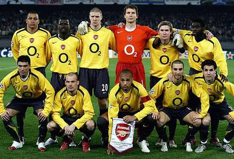 Arsenal Football Personnel