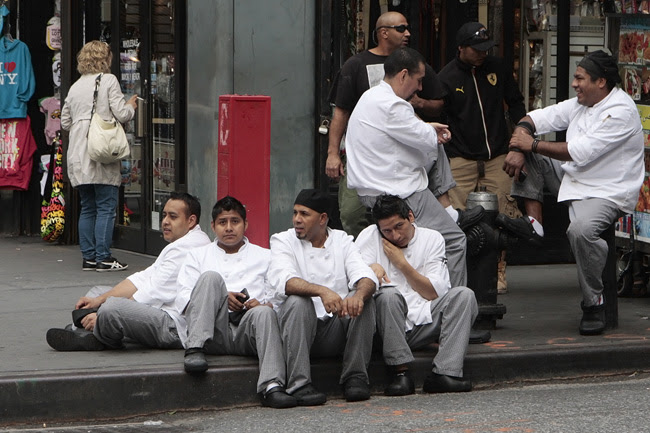 Waitstaff, NYC