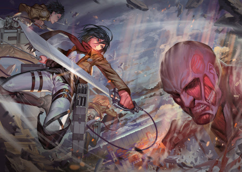 Attack on Titan by RA.