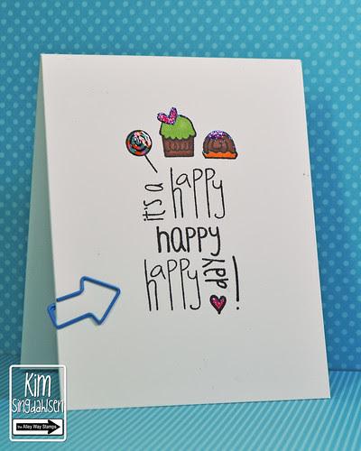 Happy x 3