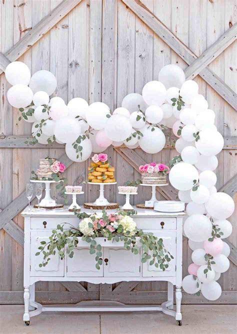 Party Decorations Diy peach afternoon tea party wedding