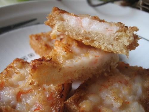 how do you make shrimp toast