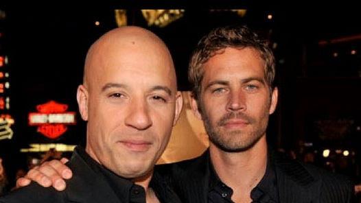 Vin Diesel despidió a  Paul Walker y subió una foto junto al actor a IInstagram.