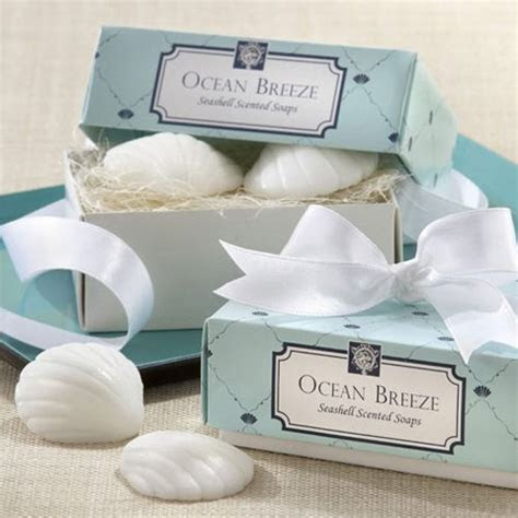 Beach Theme Scent Shell Soap Favors & Gifts For Best