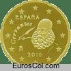 Moneda de 20 centimos de España (2a edicion)