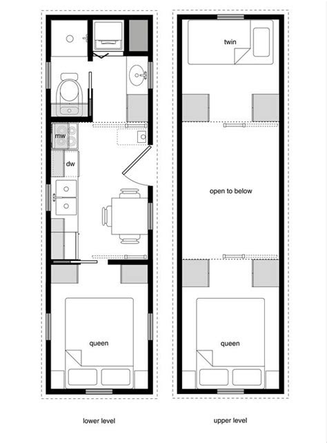 tiny house floor plans      tiny abode