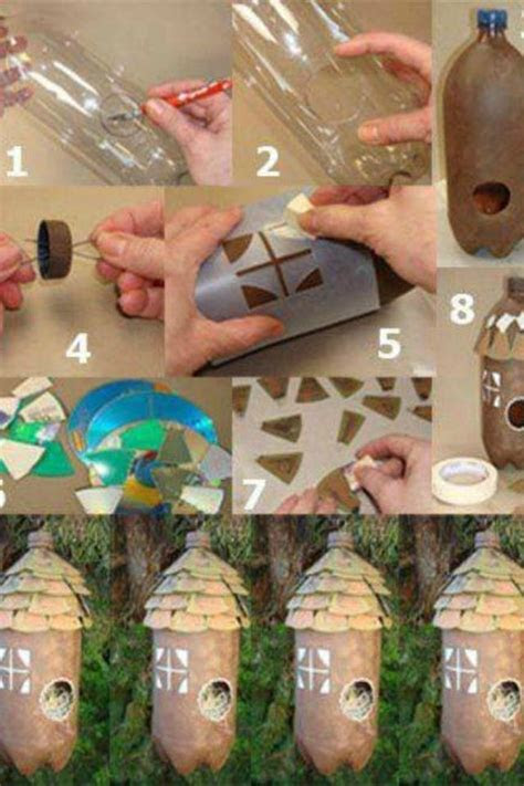 fantastic  liter bottle project bird houses diy diy