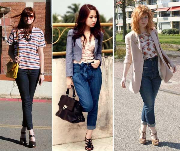 300853 jeans Calça Cropped – Tendência para o verão 2012