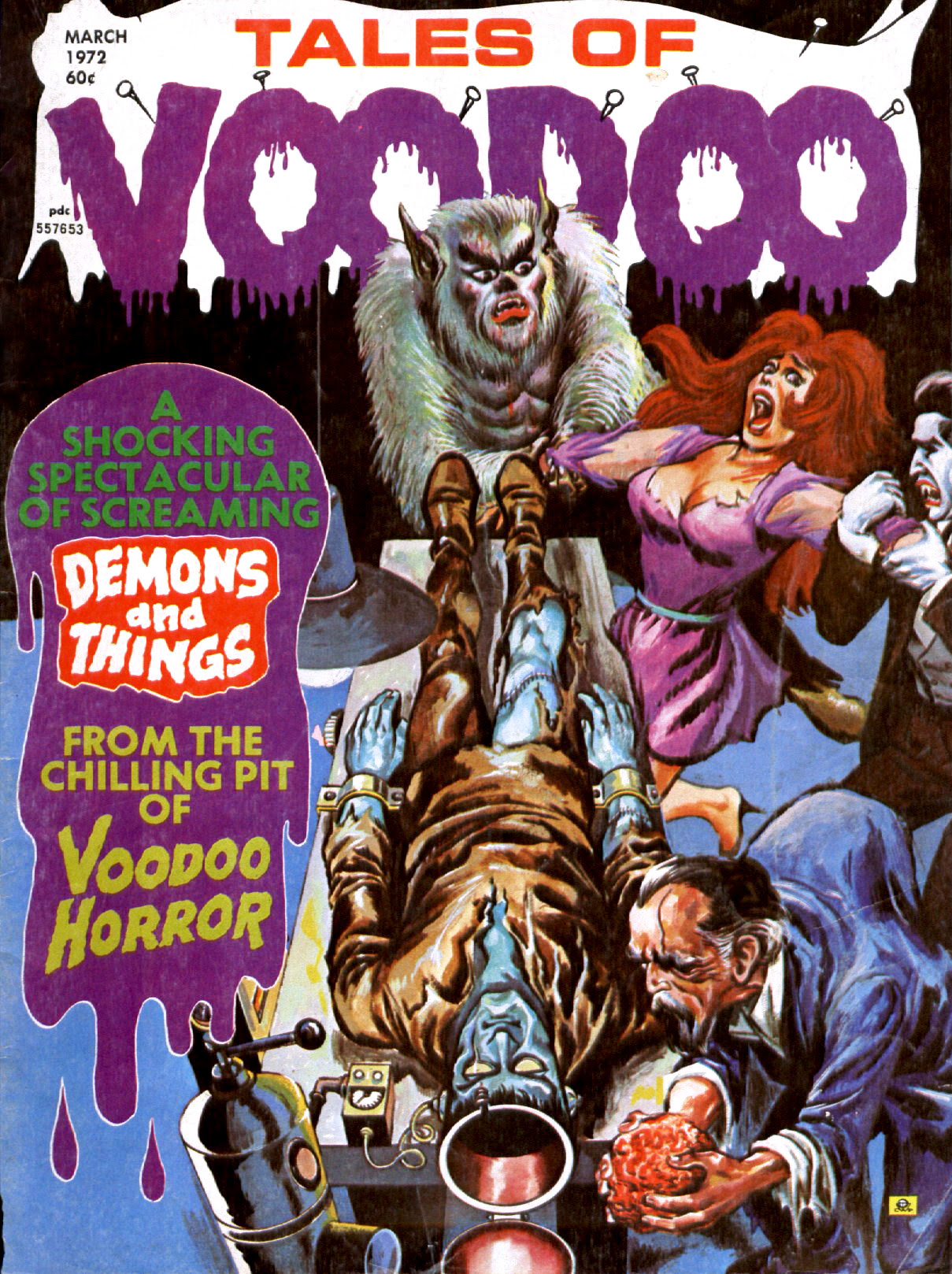 Tales of Voodoo Vol. 5 #2 (Eerie Publications 1972)