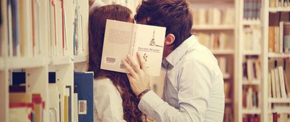 Risultati immagini per amore in libreria