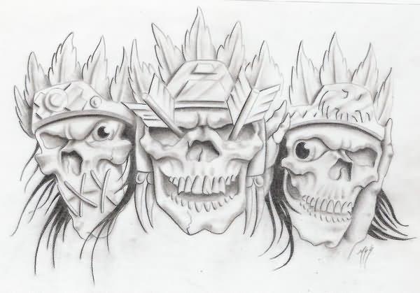 No Evil Tattoo Designs