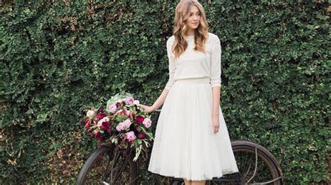These Bridal Dresses Are Perfect For A Civil Wedding