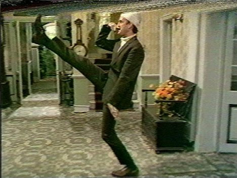 Legend: The veteran funnyman is known for characters such as Basil Fawlty