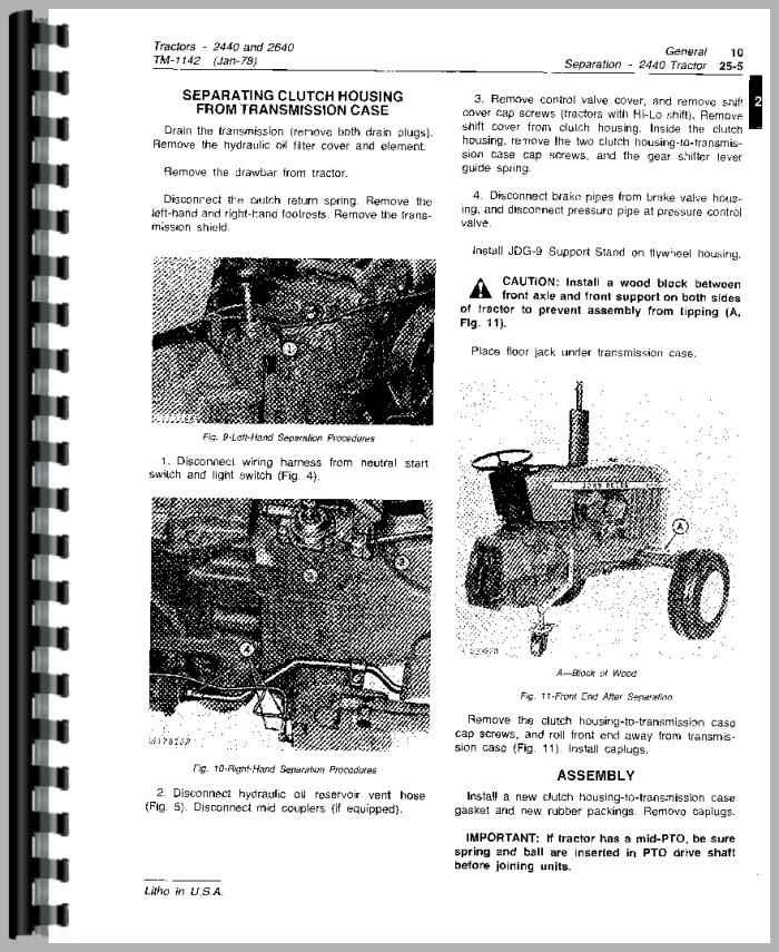 35 John Deere 2640 Parts Diagram