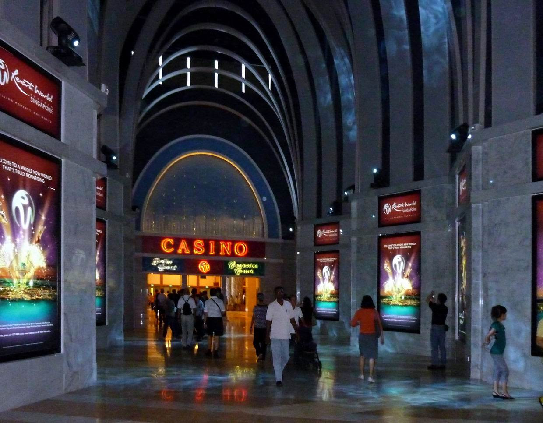 SINGAPORE Resorts World Sentosa opened 2