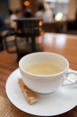 Chamomile Tea, Seasonal Sherbet, Italian Cafe Fiorentina, Grand Hyatt Tokyo, Roppongi