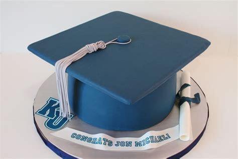 Graduation Cakes NJ  Cap and Diploma Custom Cakes