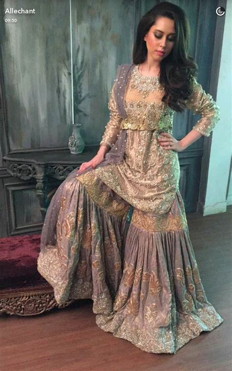Latest Bridal Sharara Designs Which Can't Get Ignored in