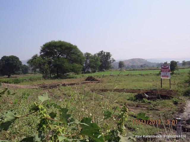 "Site of Amit Rujuta Ventures' upcoming project at Chande - Visit ""Gloria"" 1 BHK 1.5 BHK 2 BHK Flats at Nande near Hinjewadi on Pirangut Nande  Road Taluka Mulshi District Pune 412115"