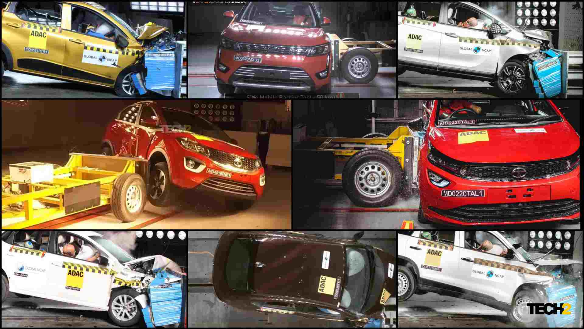 Global NCAP has conducted over 40 crash tests as part of its #SaferCarsForIndia campaign till date. Image: Tech2/Amaan Ahmed