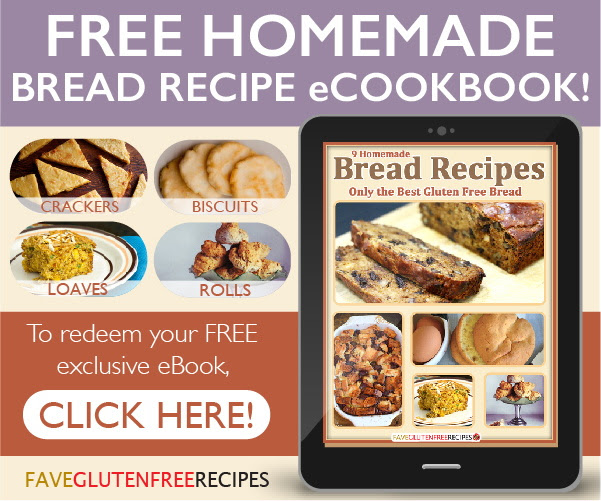 Nothing beats a good bread, especially when it's fresh from the oven. These gluten free bread recipes will exceed your expectations because they taste absolutely amazing. In this eCookbook, 13 Homemade Bread Recipes: Only the Best Gluten Free Bread, you'll find quick bread recipes, sandwich bread recipes, dinner roll recipes, and more.