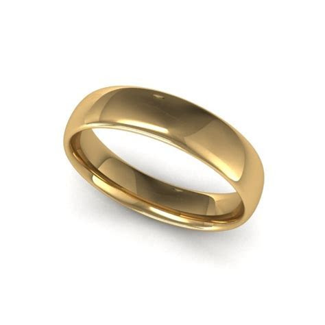 Charles Green 'Light Court' Wedding Rings 10A1