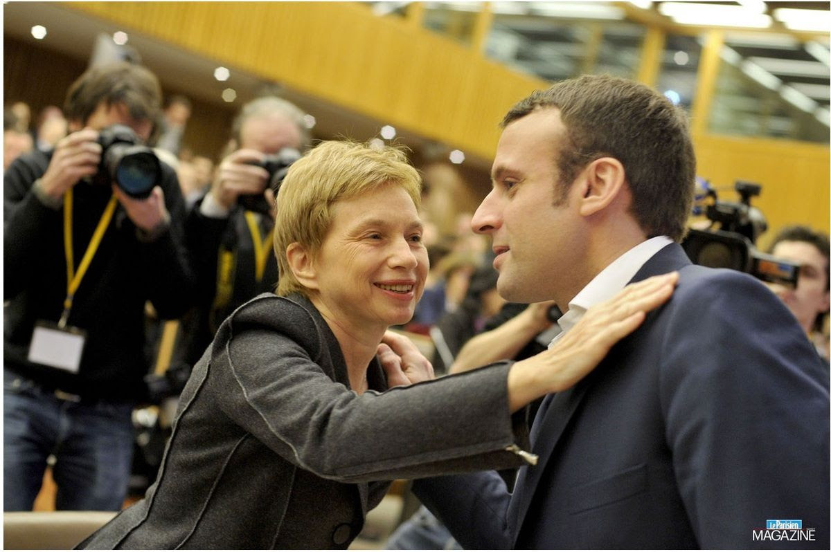 """Résultat de recherche d'images pour """"laurence parisot Macron"""""""