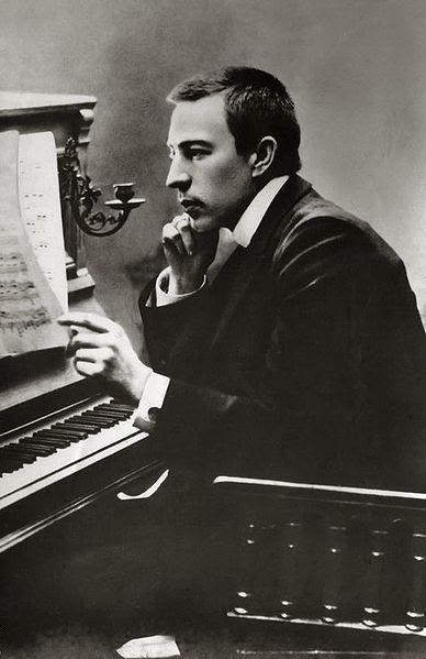 El joven Rachmaninov
