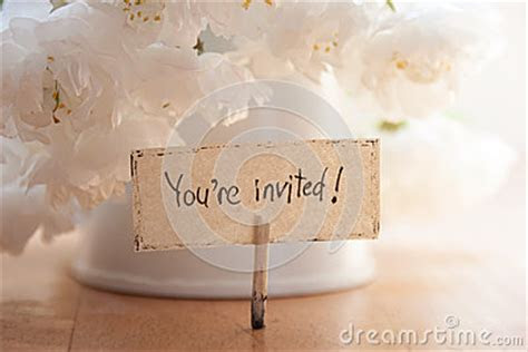 You're Invited Stock Photo   Image: 40282017
