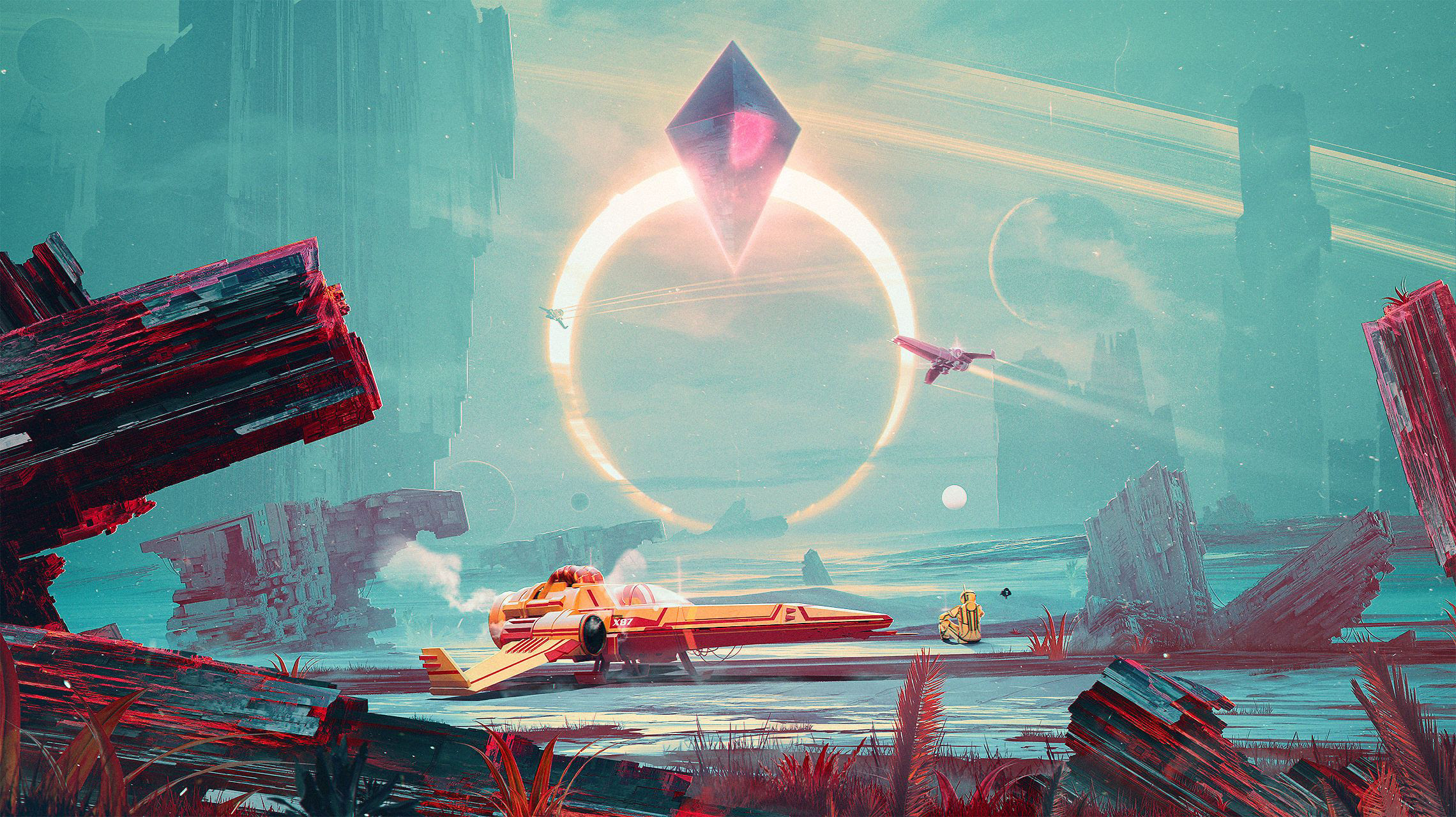 What's up with No Man's Sky and these mysterious packages? screenshot