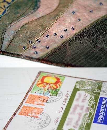 Sandra sent me a postcard