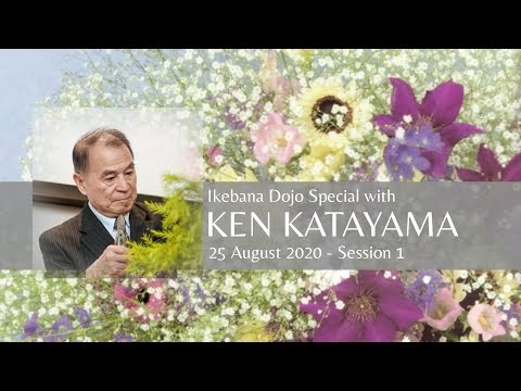 YouTube - Ikebana Dojo with Mr Katayama