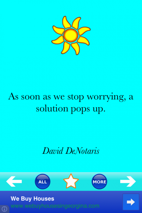 Anti Stress Quotes App Review Give Yourself A Break Apppicker