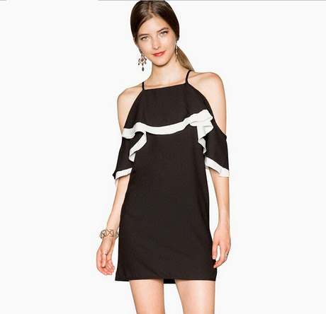 Dance evening black and white off the shoulder dress fafsa amazon