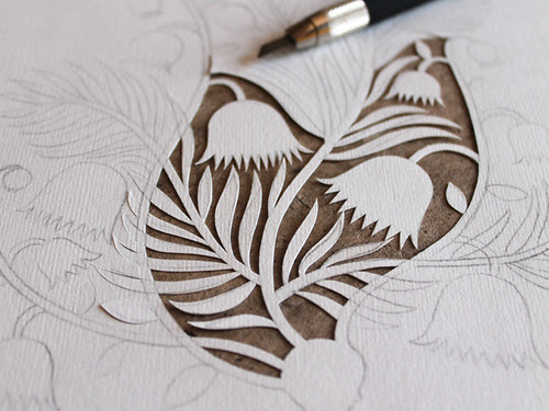papercutting-in-progress