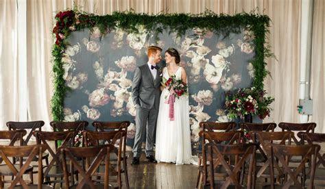 20 Unique Indoor Wedding Ceremony Backdrop Ideas   WeddingWire