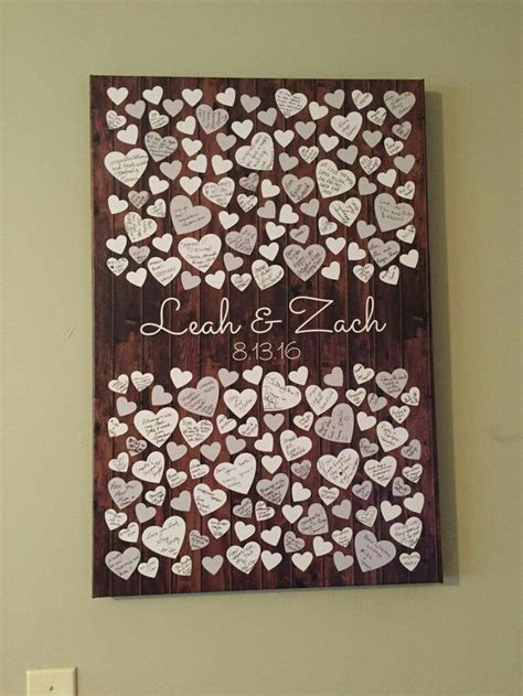 25  best ideas about Guest book alternatives on Pinterest